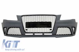 Front Bumper suitable for AUDI A4 B8 Pre-Facelift (2008-2011) RS4 Design - FBAUA4B8RS