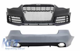 Front Bumper suitable for AUDI A5 8T Facelift (2013-2016) RS Design with Rear Bumper - COCBAUA58TFRSRB