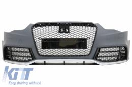 Front Bumper suitable for AUDI A5 8T Facelift (2012-2016) RS5 Design - FBAUA58TFRSB