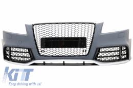 Front Bumper suitable for AUDI A5 8T Pre Facelift (2008-2011) RS5 Design - FBAUA58TRS