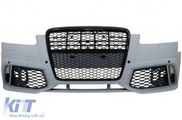 Front Bumper suitable for Audi A6 C6 4F Sedan Avant (2004-2010) RS6 Look - 1027050
