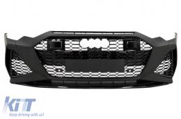 Front Bumper suitable for Audi A6 C8 4K (2018-Up) RS6 Design - FBAUA64KRS