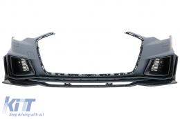 Front Bumper suitable for Audi A6 C8 4K (2018-2020) RS6 Design - FBAUA64KRSWOG