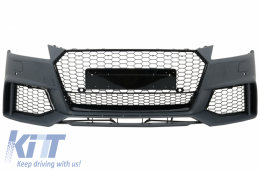 Front Bumper suitable for AUDI TT 8S Mk3 (2014-Up) RS Design - FBAUTT8S/4402