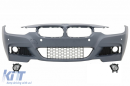Front Bumper suitable for BMW 3 Series F30 F31 (2011-up) M-Technik With Fog Lights