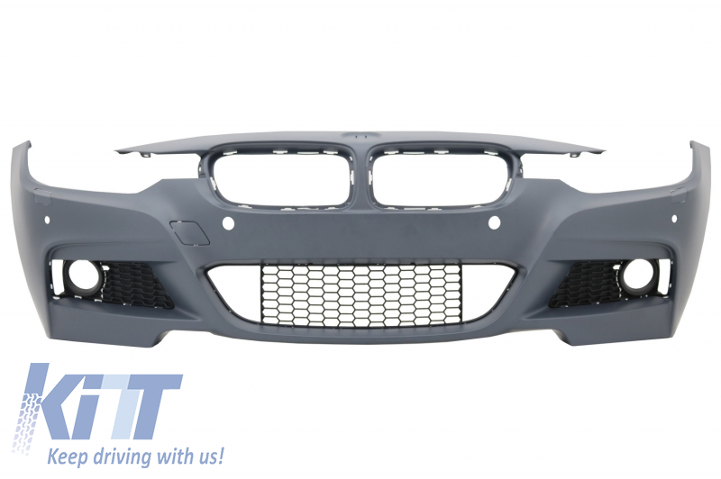 Front Bumper Suitable For Bmw 3 Series F30 F31 2011 Up M Technik