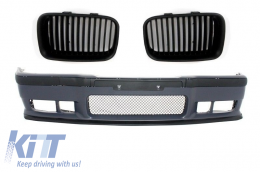 Front Bumper suitable for BMW 3er E36 M3 Look with Central Kidney Grilles