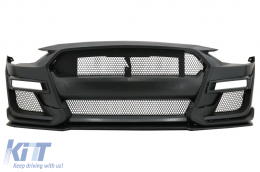 Front Bumper suitable for Ford Mustang Mk6 VI Sixth Generation Facelift (2018-2019) GT500 Design - FBFMUFGT500