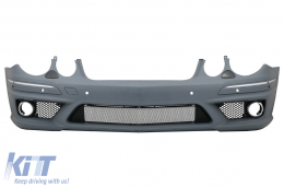 Front Bumper suitable for MERCEDES W211 E-Class Facelift (2006-2009) without Fog Lights