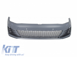 Front Bumper  suitable for VW Golf VII 7 5G (2013-2017) GTI Look - FBVWG7GTI