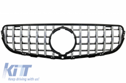 Front Central Grille suitable for MERCEDES GLC X253 C253 (2015-2018) GT R Panamericana Look