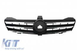 Front Grill Mercedes Benz CLS W219 (2005-2008) AMG Design - FGMBW219AMGB