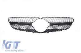 Front Grill Rear Mesh Mercedes Benz  C217 Coupe S-Class (2014-up) Optic AMG Diamond Design - A2178880523