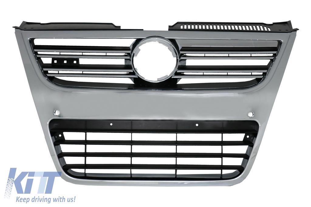 front grill vw volkswagen passat 3c 2007 2010 r36 for r36. Black Bedroom Furniture Sets. Home Design Ideas
