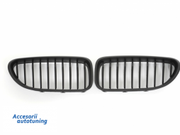 Front Grille BMW 6 Series F06 Gran Coupe (2012-up) Matte Black - FGBMF06BM