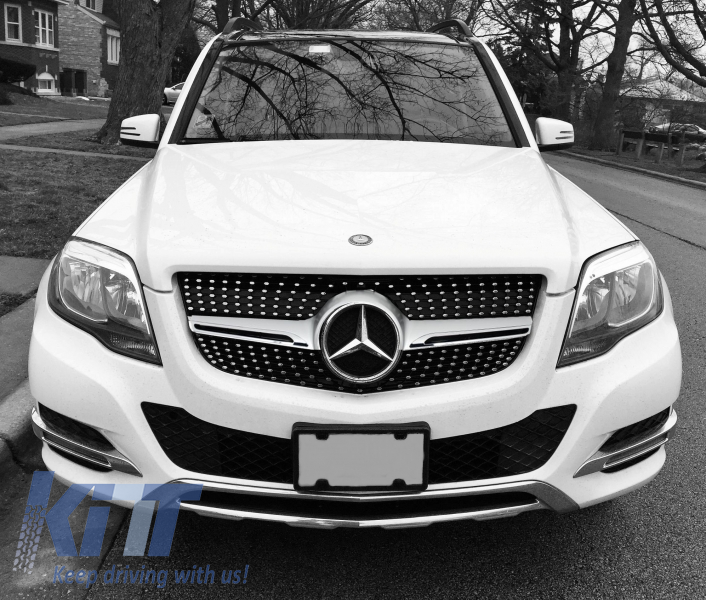 Front grille mercedes benz glk class x204 2013 2015 amg for Mercedes benz glk350 amg