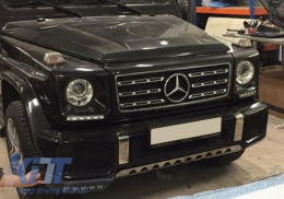 Front Grille Mercedes W463 G-Class (1990-2012) G63 AMG New Look - FGMBW463AMGNB