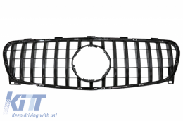 Front Grille suitable for MERCEDES GLA-Class X156 (2014-2016) GT-R Panamericana Design Black Edition - FGMBX156GTRB