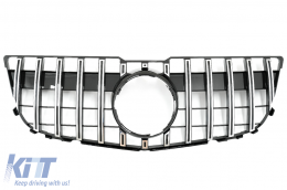 Front Grille suitable for MERCEDES GLK-Class X204 Facelift (2013-2015) GT-R Panamericana Design Chrome