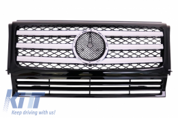 Front Grille suitable for MERCEDES W463 G-Class (1989-2017) OE Facelift Design - FGMBW463OE