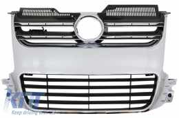 Front Grille suitable for VW Golf 5 V (2003-2009) R32 Design Chrome