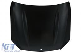 Front Hood Bonnet Suitable for Mercedes C-Class W205 S205 C205 A205 (2014-Up) C63 Design - HDMBW205C63