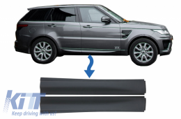 Front Lower Door Moldings suitable for Land Rover Range Rover Sport L494 (2013-up) - LBR14038