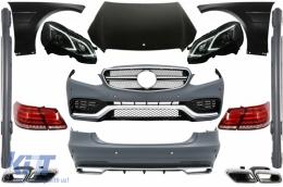 Full Conversion Body Kit Mercedes Benz W212 E-Class Pre Facelift (2009-2013) E63 AMG Design