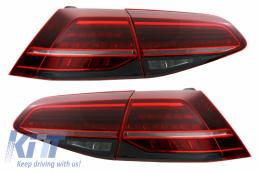 Full LED Tail Lights  suitable for VW Golf 7 VII (2012-2017) Facelift Retrofit G7.5 Matrix Look - TLVWG7F