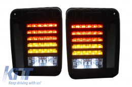 Full LED Taillights suitable for JEEP Wrangler/Rubicon JK (2007-2017) - TLJEWJK