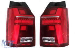 Full LED Taillights suitable for VW Transporter T6 (2015-2020) Dynamic Sequential Turning Light - TLVWT6LED