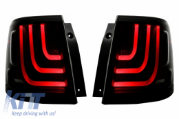 Glohh LED LightBar Taillights suitable for Range Rover Sport L320 (2005-2013) GL-3x Dynamic Smoke - TLRRSL320FGS