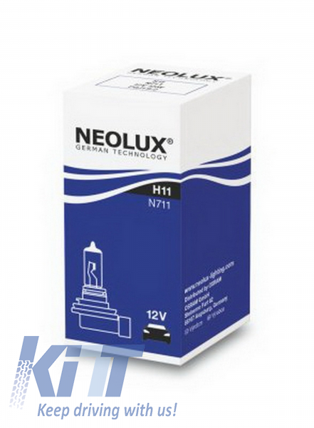 12v H11 55w Pgj19-2 N711 Neolux Genuine Top Quality Product New