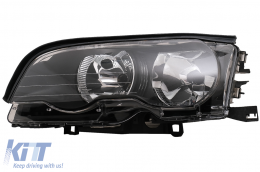 Headlight Left Side suitable for BMW 3 Series E46 Coupe Cabrio (04.1999-08.2001) - HLBME46OEL