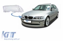 Headlight Lens Right Side suitable for BMW 3 Series E46 Facelift Sedan/Touring (2001-2004) - HGBME464DFR