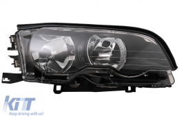 Headlight Right Side suitable for BMW 3 Series E46 Coupe Cabrio (04.1999-08.2001) - HLBME46OER