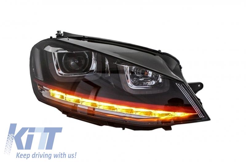 how to change volkswagen golf head lights
