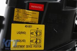 headlights Audi A6 97-01 _ 2 halo rims_black - HLAUA64B/960771