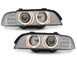 headlights BMW E39 5er 95-00_LED indicator_chrome