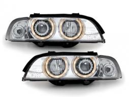 headlights BMW E39 95-00 _ halo rims