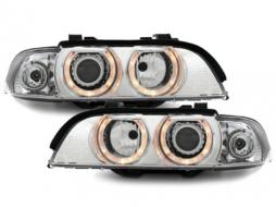 headlights BMW E39 _ halo rims
