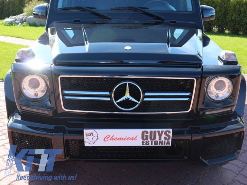 Headlights covers with led drl daytime running lights for Looking for mercedes benz parts