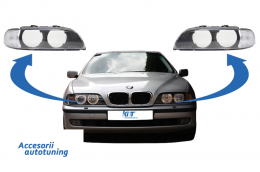 Headlights Glases Lens suitable for BMW 5 Series E39 Pre Facelift (1996-2000) - HGBME39N
