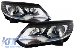 Headlights LED DRL VW Volkswagen Tiguan (2012-up) Facelift
