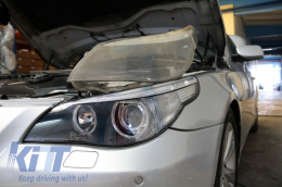 Headlights Lens Glasses BMW 5 Series E60/E61 Non-LCI (2003-03.2007) Limousine/Touring - HGBME60