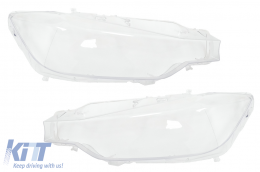 Headlights Lens Glasses suitable for BMW 3 Series F30 F31 (2011-up)  Clear Glass Optics - HGBMF30
