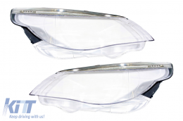 Headlights Lens Glasses suitable for BMW 5 Series E60/E61 Non-LCI (2003-03.2007) Limousine/Touring - HGBME60