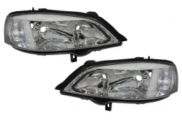 Headlights Opel Astra G (1997-2004) Clear OEM