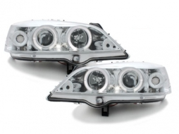 headlights Opel Astra G 98-04 _ 2 halo rims