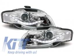 Headlights suitable for AUDI A4 B7 2004-2008 LED Daytime Running Lights DRL Optik